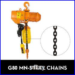0.5T 1100lbs Electric Chain Hoist 1 Phase 110V Anti-corrosion withLimit Switch