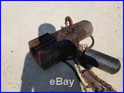 1/2 TON DAYTON Electric Chain Hoist, 1 Hp