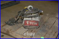 1 Ton Coffing Electric Chain Hoist Inv=29487