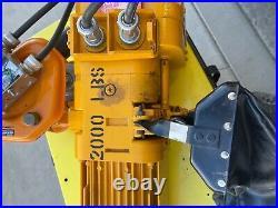 1 Ton Harrington Hoist Electric Chain Hoist Ibbq 2ph 208/230 3ph 416/460