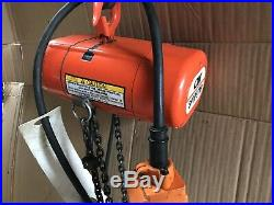 2. CM 300 LB. Capacity Electric Chain Hoists Great Condition