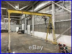 2 Ton Gantry Crane With Coffing 2 Ton Electric Chain Hoist