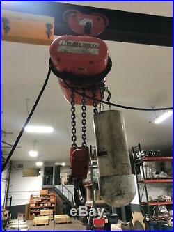 2 Ton Portable A-Frame Gantry Crane with 2 Ton CM Electric Chain Hoist