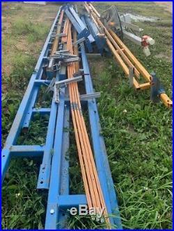 2000lb Gorbel Free Standing Crane System, 2200 Lb Electric Chain Hoist, 2012