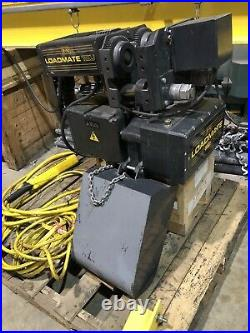 2019 R&M Loadmate LM16 3 Ton Electric Chain Hoist 2 Speed with Motorized Trolley