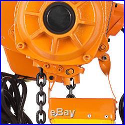 2200Lbs Electric Chain Hoist 10 Lift Height Railway Factories High Speed
