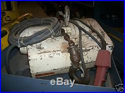(#226) 2 Ton Capacity Coffing Electric Chain Hoist 3 phase