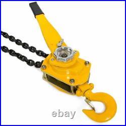3 Ton Lever Block Chain Hoist Ratchet Type Come Along Puller 5FT Lifter shop