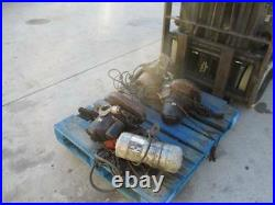 3 Yale 1 ton electric chain hoists and 1.5 ton electric hois FOR PARTS OR REBUIL