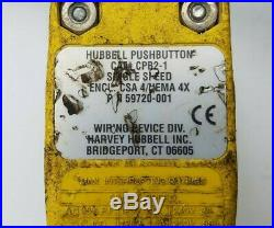 500LB Dayton 4GU71A Electric Chain Hoist Lift 115V 1PH 1/6HP 7FPM Hubbell Remote
