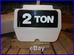 (#613) 2 ton electric chain hoist 20' lift EC4016-3- 3 phase