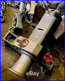 AB CHANCE Heavy Duty Electric Capstan Winch and Chain mount EXCELLENT CONDITION
