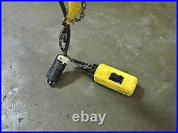 Acco Wright-way Electric Chain Hoist 2101281 1000lbs 1/2 Ton 218 Drop 230/460v