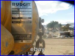 Budget Chain Hoist 2 Ton 120 VOLT