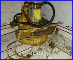 Budgit 1 Ton Electric Chain Hoist 115 volts