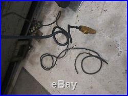 Budgit 1 Ton Single phase 110 220v Chain hoist electric gantry jib crane