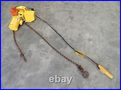 Budgit 115845-20 1 Ton Electric Chain Hoist Lift 240V 3PH Lifttech 1 HP 2000 lb