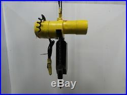 Budgit 115847-11 2 Ton Electric Chain Hoist 15 Lift 16FPM 230-460v 3PH