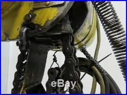 Budgit 116891-31 1 Ton Electric Roller Chain Hoist 24' Lift 16FPM