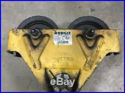 Budgit 2 Ton 4000 LB Electric Chain Hoist 15 Lift 3 PH 230/460V Trolley