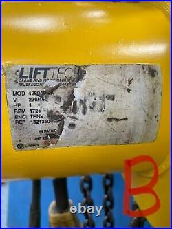 Budgit 2 Ton 4000 lbs. Electric Chain Hoist