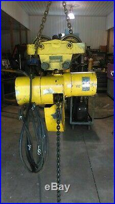 Budgit 2-ton three phase Electric Chain Hoist