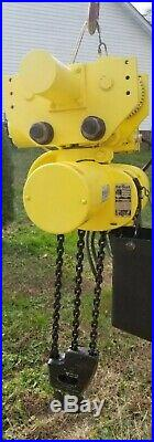 Budgit 3 Ton Electric Chain Hoist With Motorized Trolley