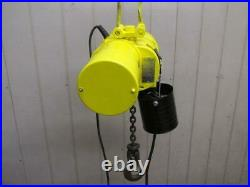 Budgit BEH0116 Electric Chain Hoist 1 Ton 2000 Lbs 3 PH 230/460v 12' Ft. Lift