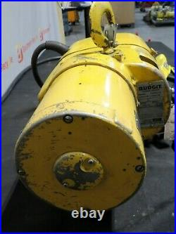 Budgit Chain Hoist 113452-5 1/2 Ton 1000lb Hook Phase 3 230/460 V