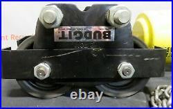 Budgit Chain Hoist BEH0208 2 Ton Electric 230/460V Pneumatic 4000Lbs Trolley