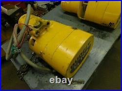 Budgit Electric Chain Hoist 1/4 Ton 3 Phase 230/460 VAC Model 115842-3