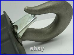 CM 3658 Lodestar Electric Chain Hoist Suspension Rigid Hook 2 Ton R-RR-WR