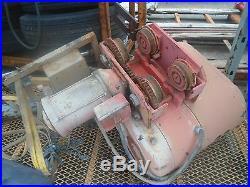 CM Columbus McKinnon 2-TON Electric Chain Hoist Model 7002 5HP 20FPM