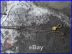 CM Comet 1/2 Ton Electric Chain Hoist
