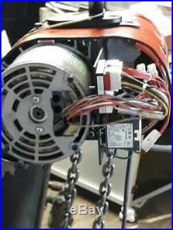 CM LODESTAR 2 TON ELECTRIC CHAIN HOIST Mfg 2015