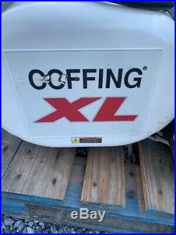 CM LODESTAR COFFING XL 7500 7 1/2 ton ELECTRIC chain hoist 80 ft lift 8.33 FPM