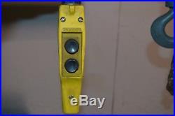 CM Loadstar Model L 1 Ton Electric Chain Hoist