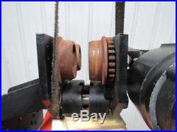 CM Loadstar RT 3 Ton Electric Chain Hoist 635 Motor Trolley 5.5 FPM 3PH 10'Lift