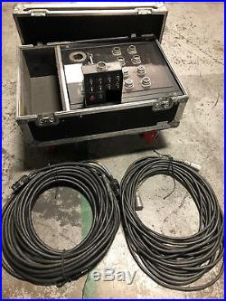 CM Lodestar 1/2 Ton Model F Electric Chain Hoists 60' Package Of 8