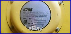 CM Lodestar Electric Chain Fall Hoist Single Phase (Inv. 38827)