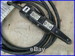 CM Lodestar Electric Chain Hoist 1/2 Ton & 635 Motor Driven Trolley 120v 1phase