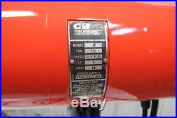 CM Lodestar Model J 1/2 Ton 1000lb 110V Electric Chain Hoist 14' 9 Travel 32FPM
