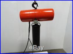 CM Lodestar Model J 1/2 Ton Electric Chain Hoist 13' Travel 32FPM 240/480