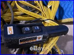 CM Lodestar Model L-2, Electric Chain Hoist withLift 635 Trolley, 440-480 3ph