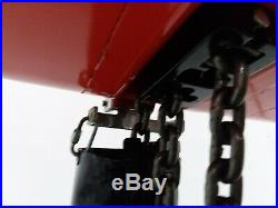 CM Lodestar Model R 2 Ton 4000lb Electric Chain Hoist 15' Lift 8FPM 1HP 1PH 120V