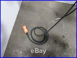 CM Lodestar Model R 2 Ton 4000lb Electric Chain Hoist 18' Lift 8FPM 1PH 120V