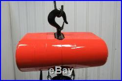 CM Lodestar Model RT 3 Ton 110V 1Ph Electric Chain Hoist 19' 6 Lift 5.5 FPM