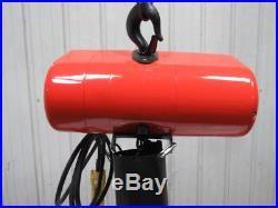 CM Lodestar RR 2 Ton 2Hp Electric Chain Hoist 230/460V 3Ph 10' Lift 16FPM