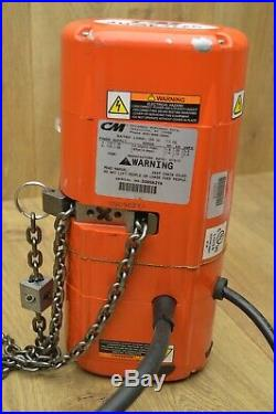 CM Shopstar Electric Chain Hoist 250lbs 113kg