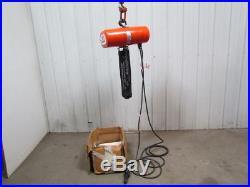 CM Valuestar Electric Hoist Hoist Chain 500 lb. Capacity 115 Volt